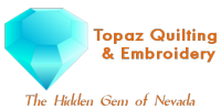 Topaz Quilting and Embroidery